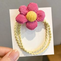 Virágos hajgumi